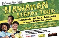 Hawaiian Legacy Tour